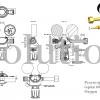 Редуктор Cavagna серии 6000D Oxygen_чертёж