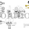 Редуктор Cavagna серии 6000D Inert gas_чертеж_1