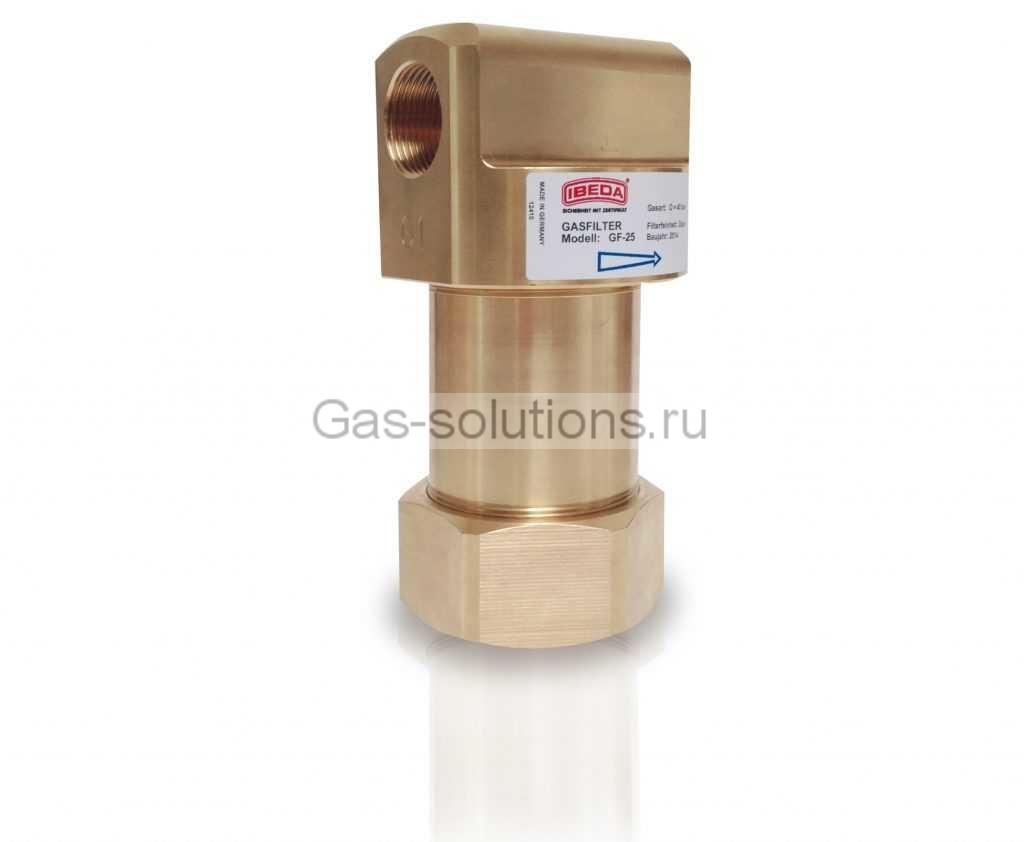 Фильтр IBEDA для технических газов  на входе в смеситель
