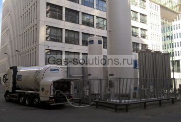 Газовая станция Linde для больниц