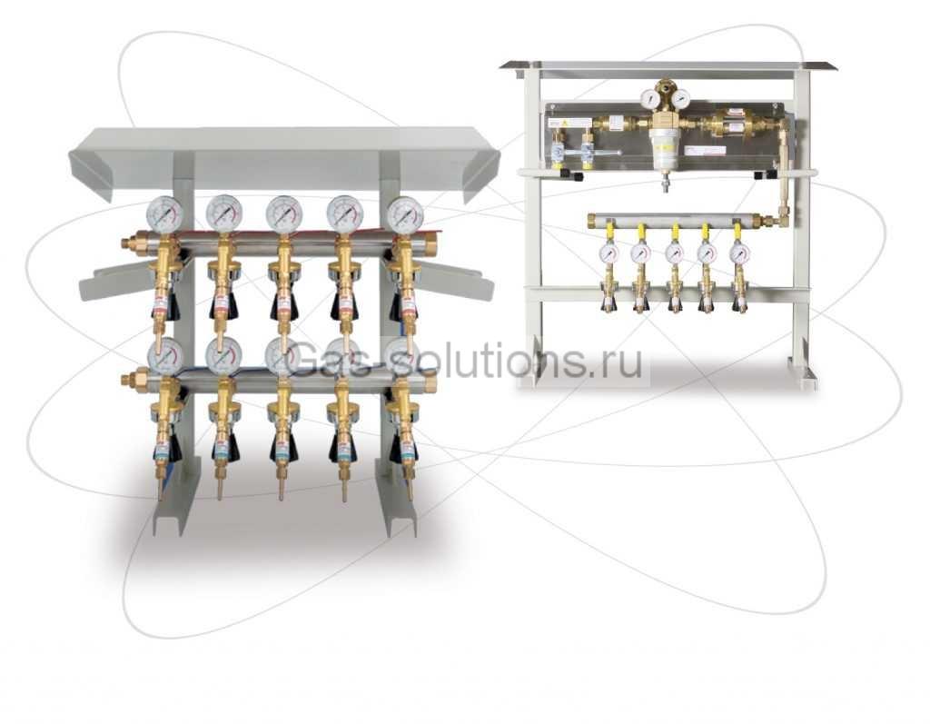 мобильная газовая рампа IBEDA