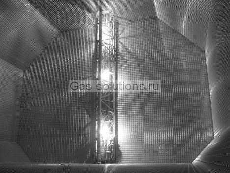 Резервуар из гибкой мембраны по технологии GST