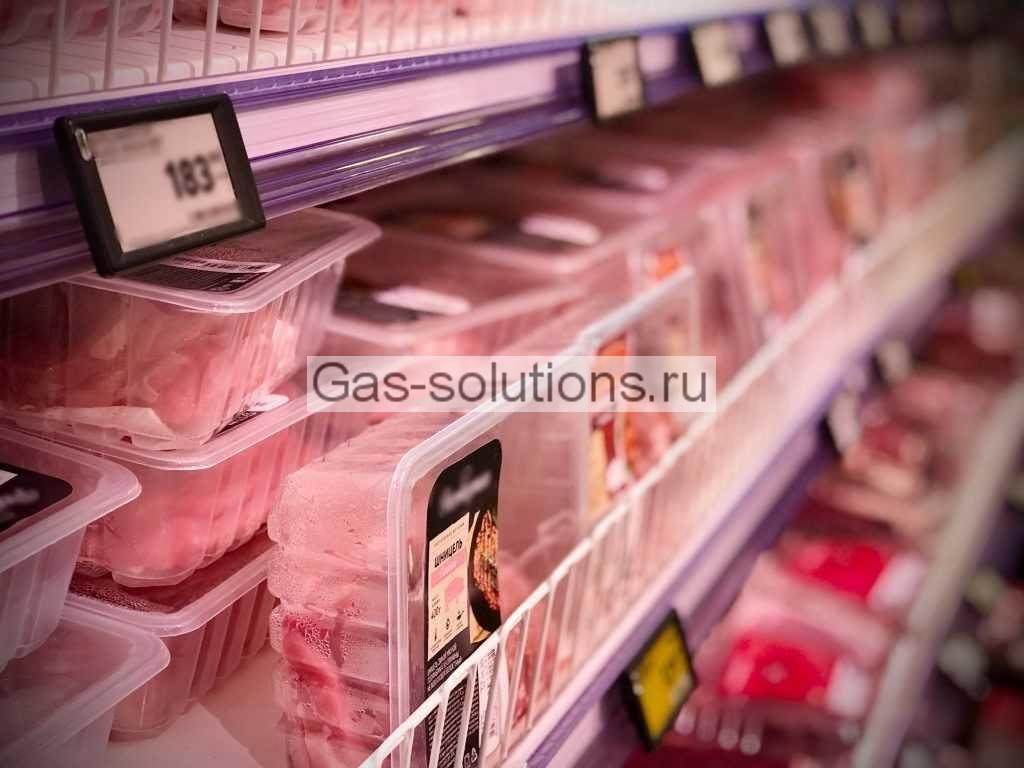 Упаковка продуктов в МГА