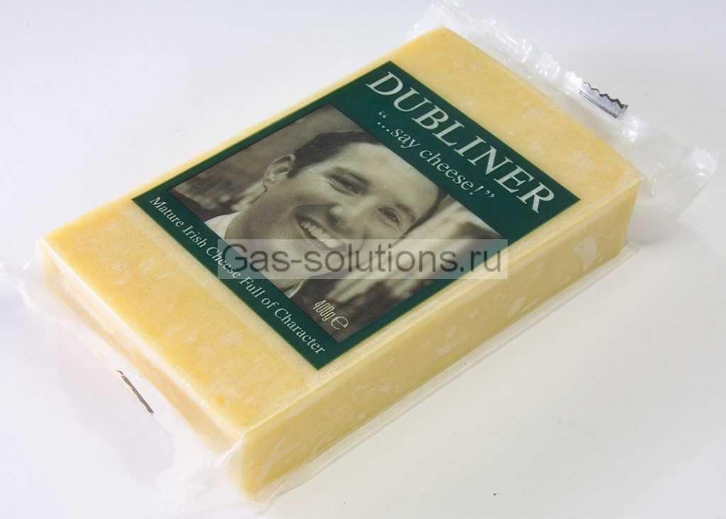 Упаковка сыра в МГА