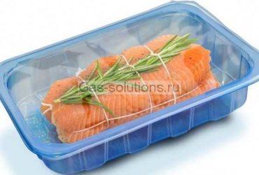 Упаковка рыбы в МГС