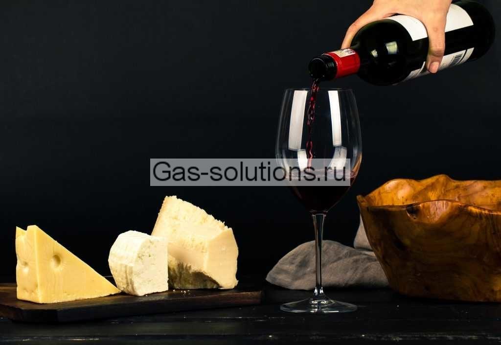 Газы для защиты вина