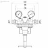 Редуктор Spectrotec серии U23_чертеж 2