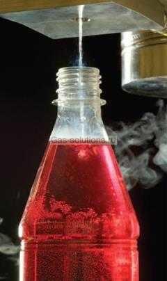 система дозации жидкого азота напитков