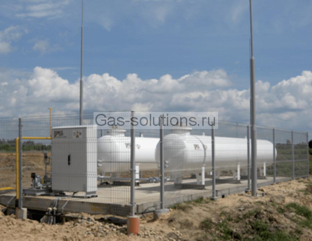 """Классическое решение для обеспечения газообразным пропаном, разработанное производственным центром """"ФАСХИММАШ"""""""