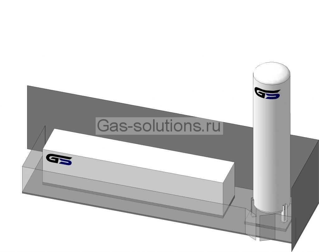 Вариант площадки системы газоснабжения_1